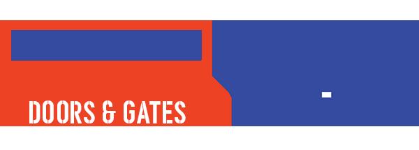 grayson county door and gates - garage door repair logo